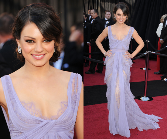 Mila Kunis at the Oscars 2011