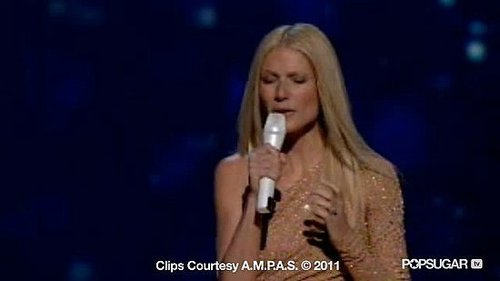 "Video of Gwyneth Paltrow Performing ""Coming Home"" From Country Strong at the 2011 Oscars"