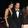 Pictures of Matthew McConaughey and Camila Alves at the 2011 Oscars