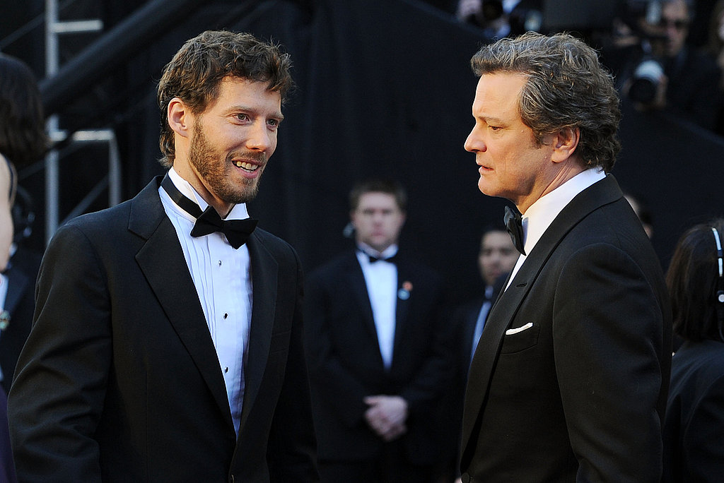 Colin Firth and Aron Ralston