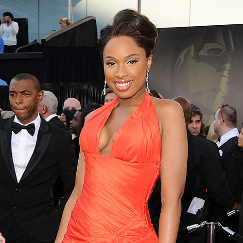 Pictures of Jennifer Hudson on the Red Carpet at the 2011 Oscars