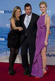 Jennifer Aniston Goes With Black, Brooklyn With Sexy Purple at Berlin Premiere