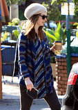 Anne Hathaway Grabs Coffee as Oscar Day Gets Closer