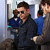 Pictures of Zac Efron Leaving LAX