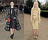 Rachel Bilson and Kate Bosworth at London Fashion Week