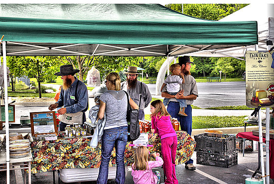 Farmers Market Frenzy