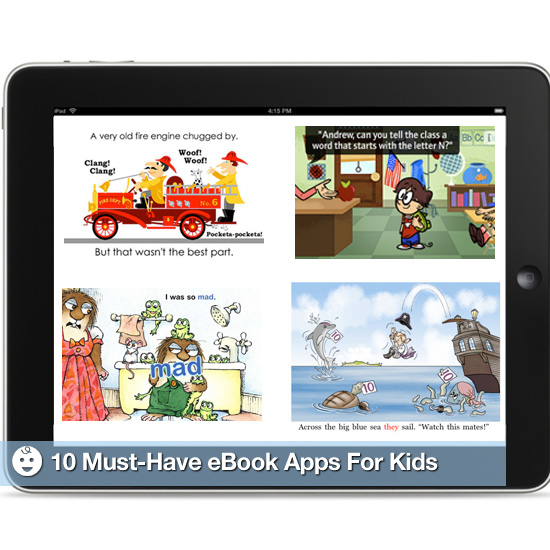 Must-Have eBook Apps For Kids