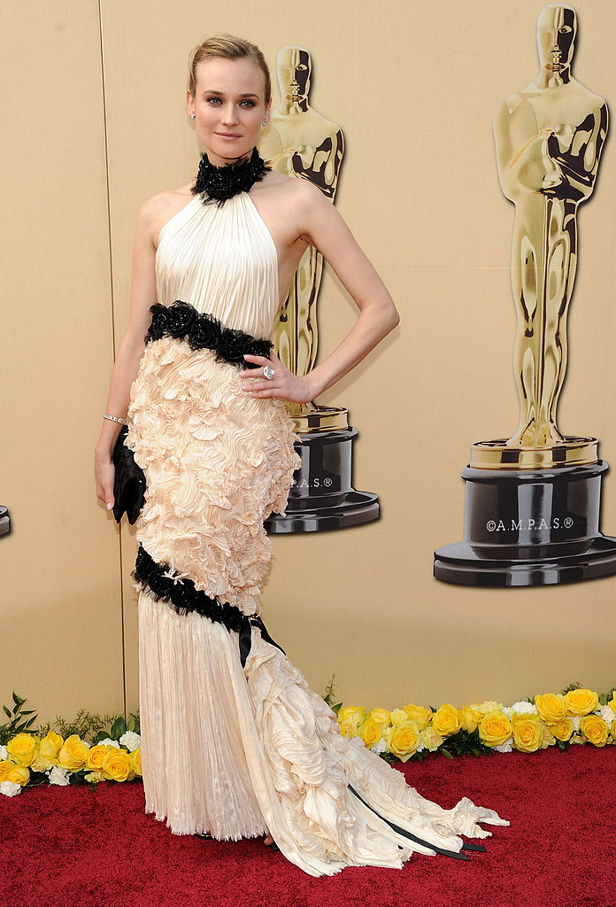 Diane Kruger at the 2010 Academy Awards