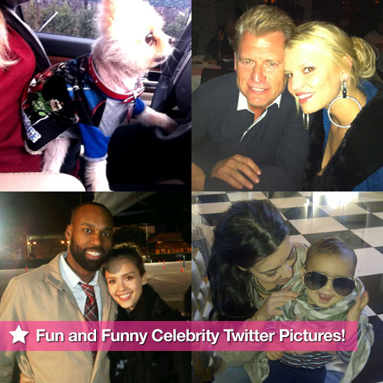 Jessica Simpson, Britney Spears, Ryan Seacrest, and More in This Week's Fun and Funny Celebrity Twitter Pictures!