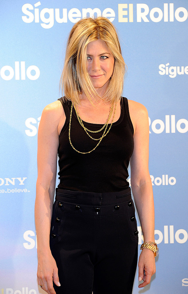 Jennifer Aniston New Haircut Madrid 2011 02 22 064429jpg | Short ...