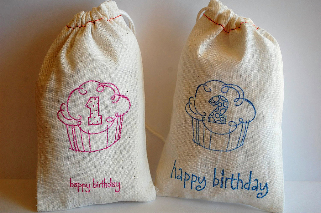 Happy Birthday Cupcake Bags
