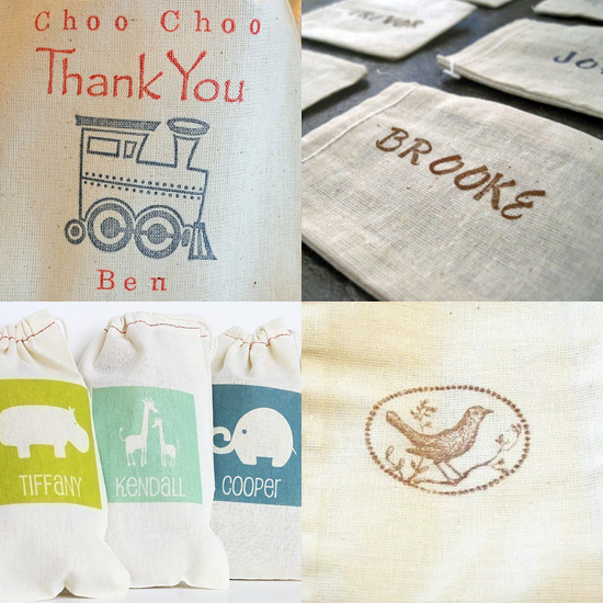 Keepsake Party Favor Bags Guests Will Treasure Forever
