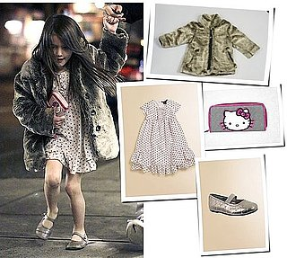 Pictures of Suri Cruise Out With Tom Cruise