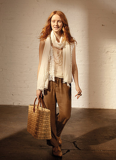 Peep Part Deux of Club Monaco's Spring Lookbook Featuring Lou Doillon and Lauren Hutton!
