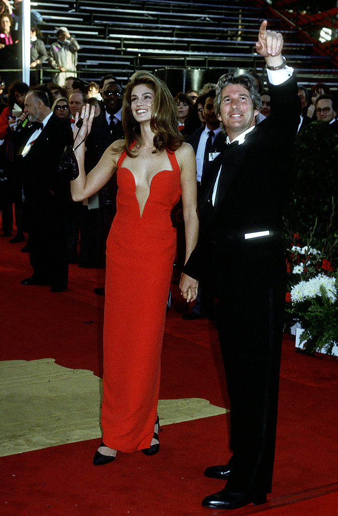 Cindy Crawford in Versace, 1991