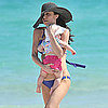 Pictures of Bethenny Frankel in a Bikini With Daughter Bryn Hoppy