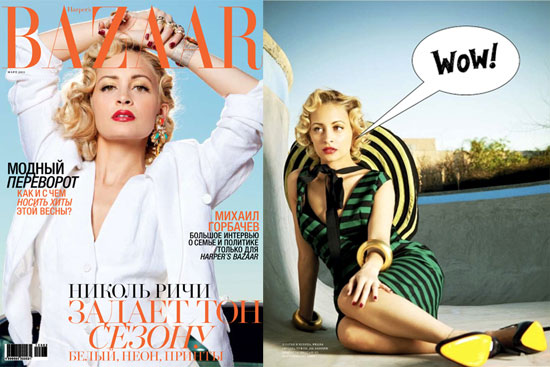 Pictures of Nicole Richie in Harper's Bazaar Russia 2011-02-23 14:22:55