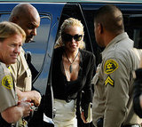 Lindsay Lohan Arriving to Court in LA