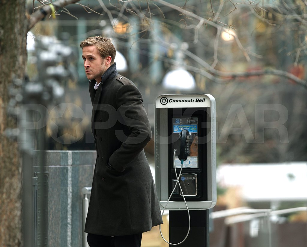 George Clooney and Ryan Gosling Spend Their Chilly February Shooting The Ides of March