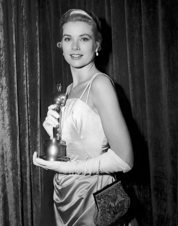 Grace Kelly at the 1954 Academy Awards