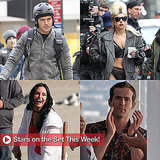 Pictures of Ryan Reynolds, Zac Efron, and Lady Gaga on Set