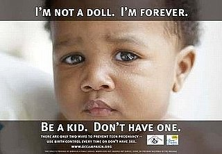 DC Campaign to Prevent Teen Pregnancy Baby Posters