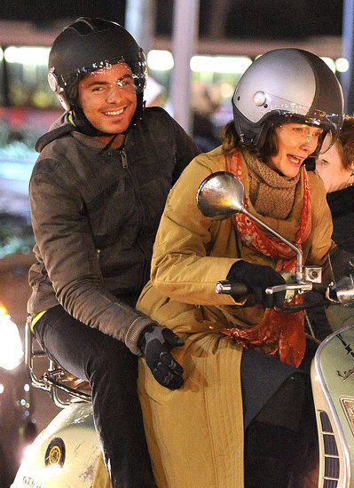 Zac Efron & Michelle Pfeiffer Reunite For a NY New Year's Eve Vespa Ride