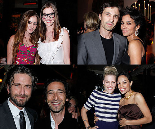 Halle Berry, Olivier Martinez, Anne Hathaway, Gerard Butler and More at Dior's 2011 Oscars Dinner