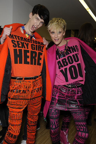 Backstage Model Photos From Fall 2011 Milan Fashion Week
