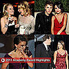 Pictures From the 2011 Oscars Red Carpet, Show, Afterparties