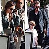 Pictures of Victoria Beckham, David Beckham, Cruz Beckham, Brooklyn Beckham, and More at a Pre-Oscars Party in Beverly Hills