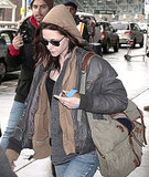 Kristen Stewart Brings Her Injured Wrist Back to Her Husband Edward Cullen in Vancouver
