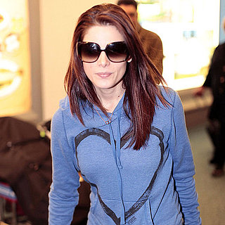 Pictures of Ashley Greene Landing at the Vancouver Airport
