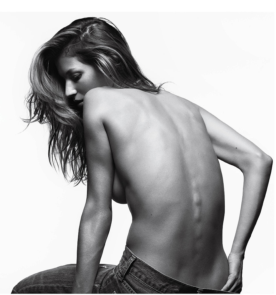 Gisele Poses Topless, Shows Off Amazing Abs For a Very Sexy Shoot!