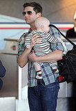 Neil Patrick Harris and David Burtka Take Off With Their Twins on Oscar Sunday