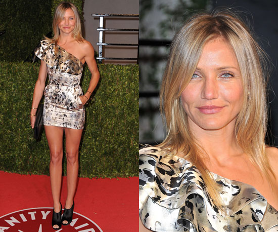 Cameron Diaz Vanity Fair Oscars Party 2011