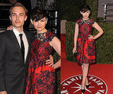 Ginnifer Goodwin In Erdem Dress at 2011 Vanity Fair Oscars Party