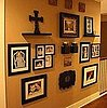 Photos of Gallery Walls and Ideas For Hanging Art