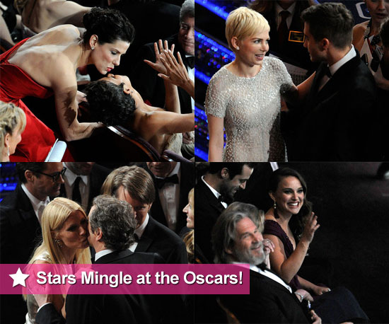 See Who's Sitting Next to Who at the Oscars!