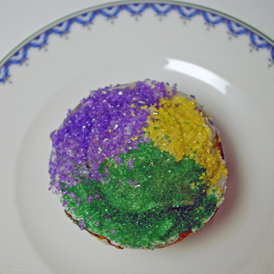 Mardi Gras Cupcakes Fit For a King