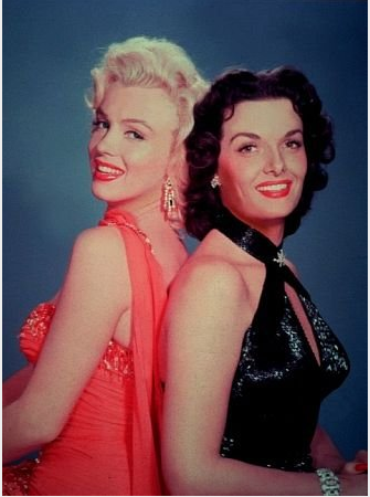 In Gentlemen Prefer Blondes
