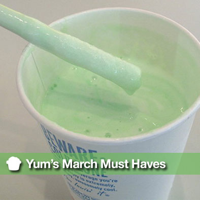 Yum's March Must Haves