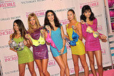 Adriana Lima and Her Victoria's Secret Buddies Get Colorful For a Launch