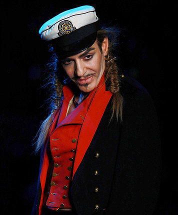 John Galliano Fired from Christian Dior for Anti-Semitic Statements