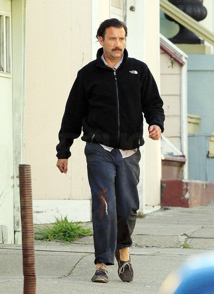 Clive Owen Shows His Sexy 'Stache Off in San Francisco
