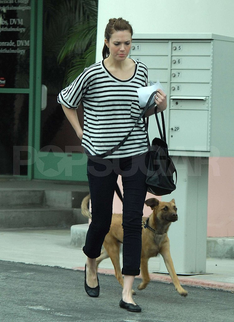 Mandy Moore Has a Dog Day Following Oscars Night