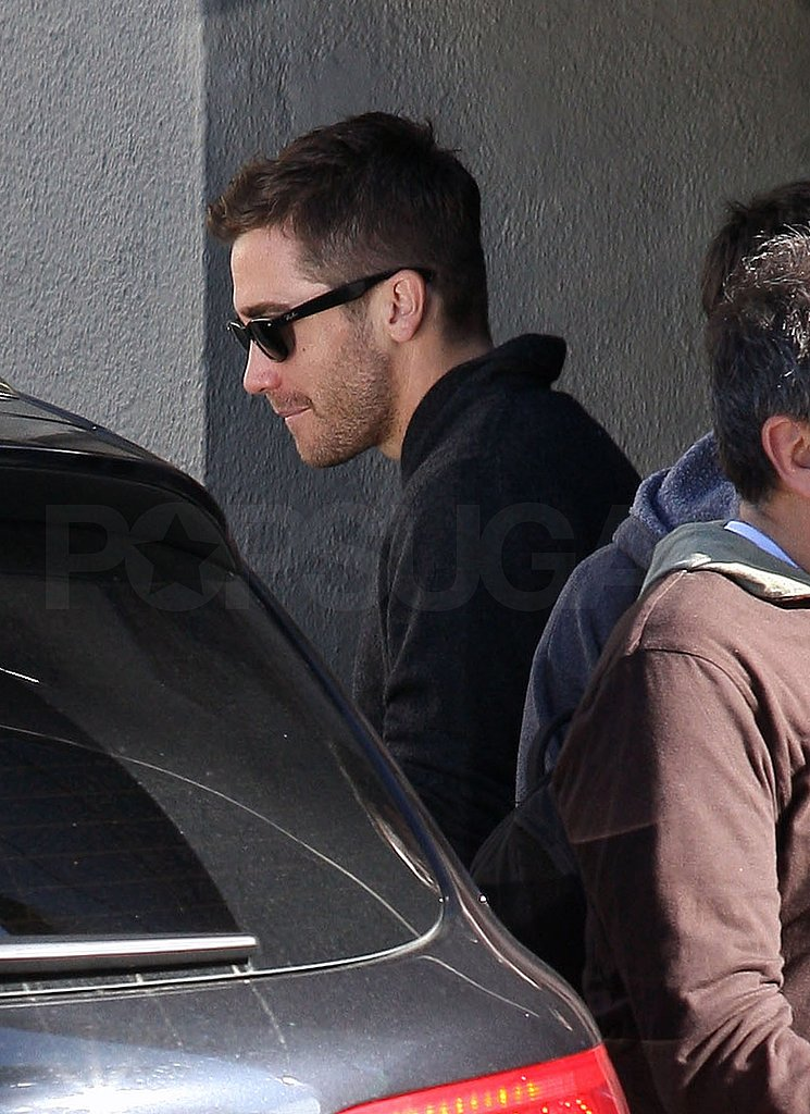 Jake Gyllenhaal Treats Himself to a Post-Oscars Lunch