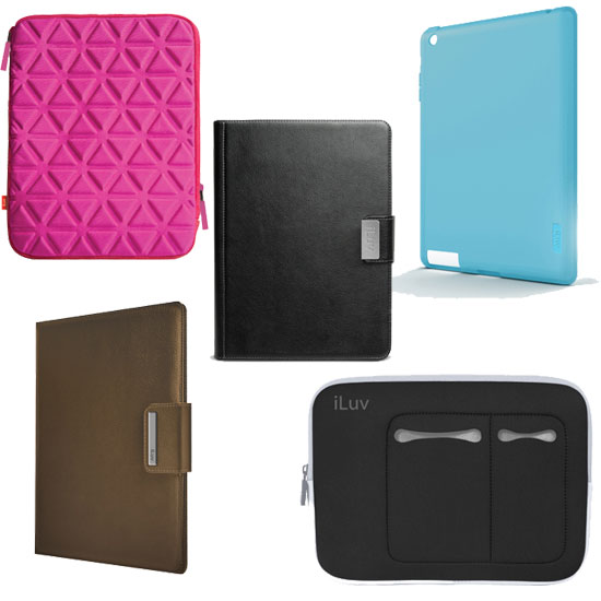iLuv Readies iPad 2 Cases and Sleeves