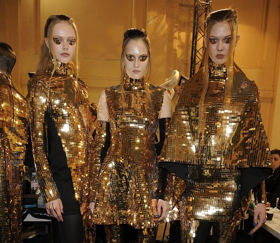 The Best Backstage Snaps from Dries Van Noten, Gareth Pugh, and Rochas!