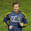 Pictures of David Beckham at the LA Galaxy's Match With Club Tijuana in San Diego, CA